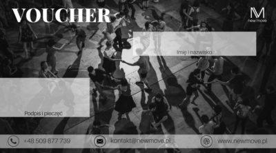 Podaruj bliskiej osobie VOUCHER nakurs tańca lub lekcję indywidualną!