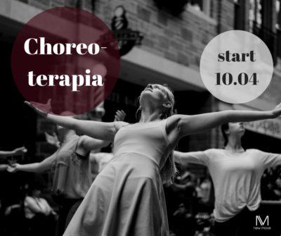 Startujemy znowym kursem – CHOREOTERAPIA już 10.04!