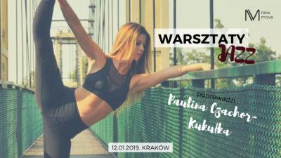 Warsztaty JAZZ zPauliną Czachor-Kukułką już 12 stycznia!