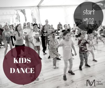 Kids dance – zajęcia taneczno-ruchowe dla dzieci