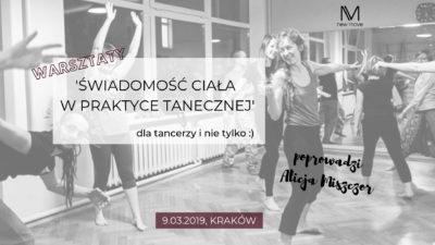 Świadomość ciała wpraktyce tanecznej zAlicją Miszczor