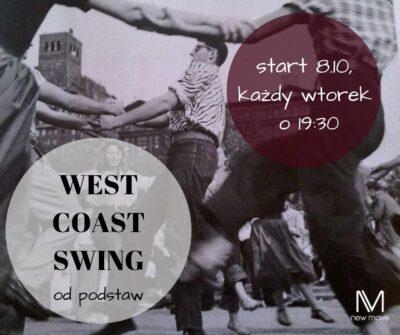West Coast Swing – kurs odpodstaw
