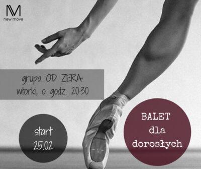 Balet dla dorosłych – kurs odzera