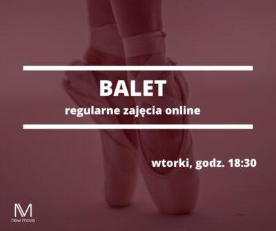 Regularny balet odpodstaw online