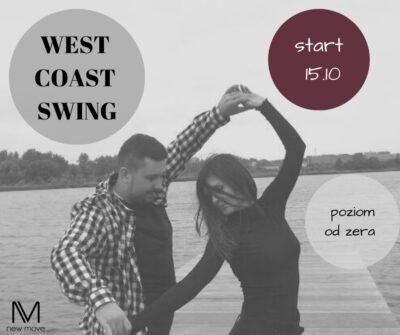 West coast swing – kurs tańca dla dorosłych