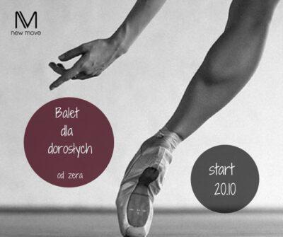 Balet dla dorosłych odzera – start 20.10