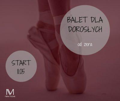 Nowy balet dla dorosłych odzera