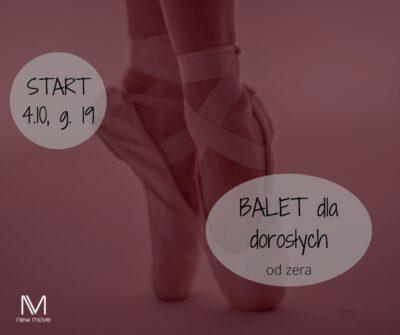 Balet dla dorosłych odzera wKrakowie